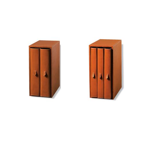 Arte&Cuoio-Collection-Office-Archiviazione-Archivio-Due